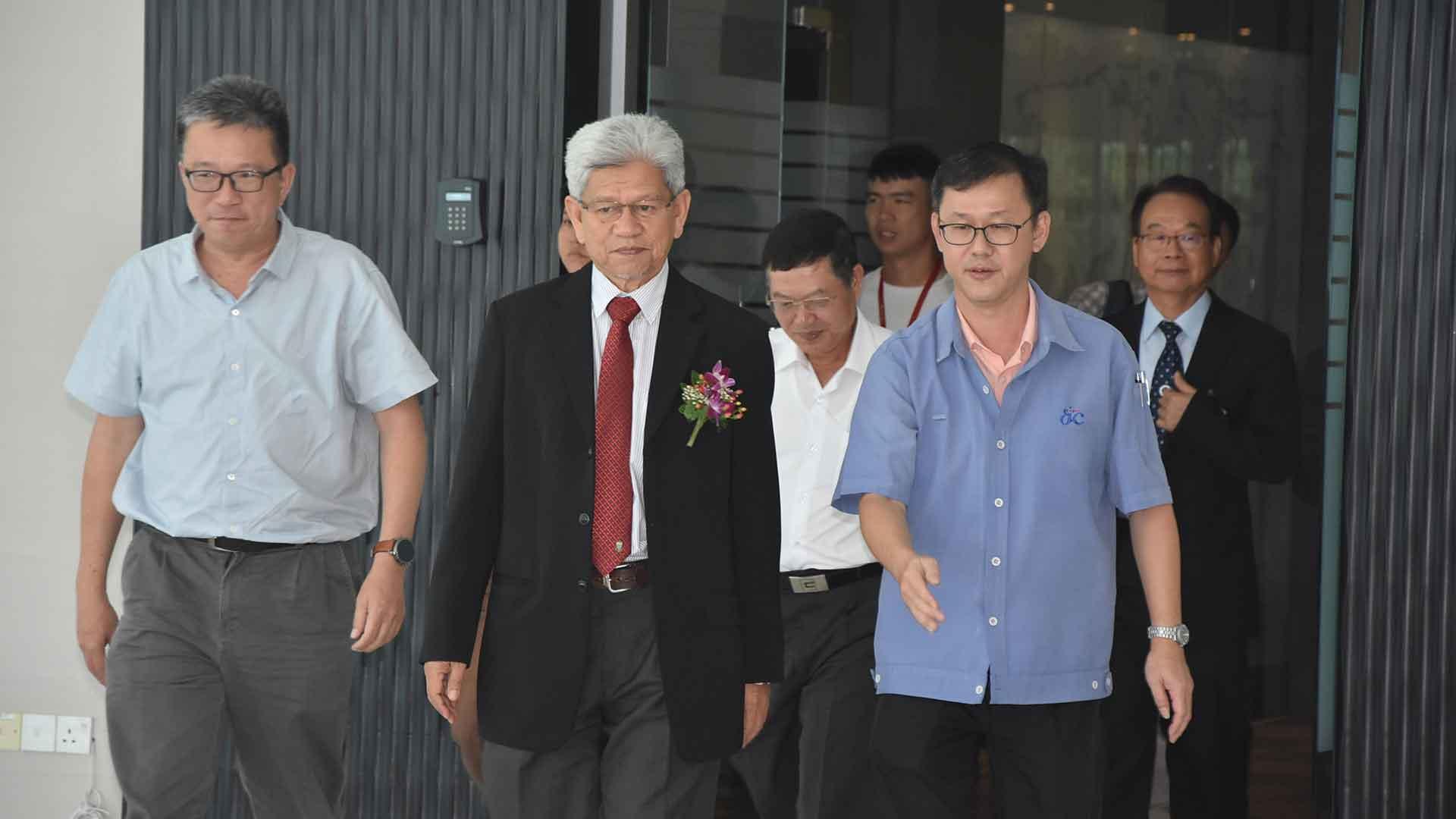 Deputy Chief Minister of Penang visits Dufu