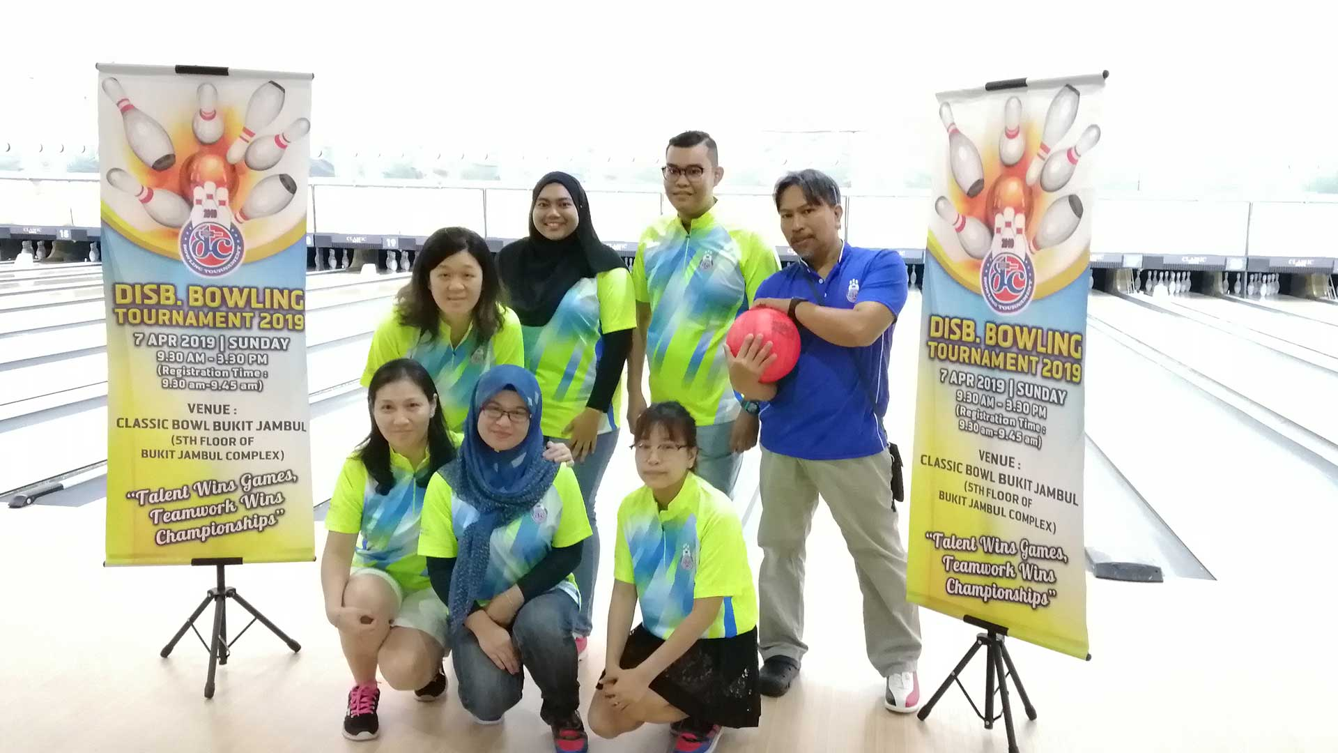 Dufu 2019 in-house bowling competition