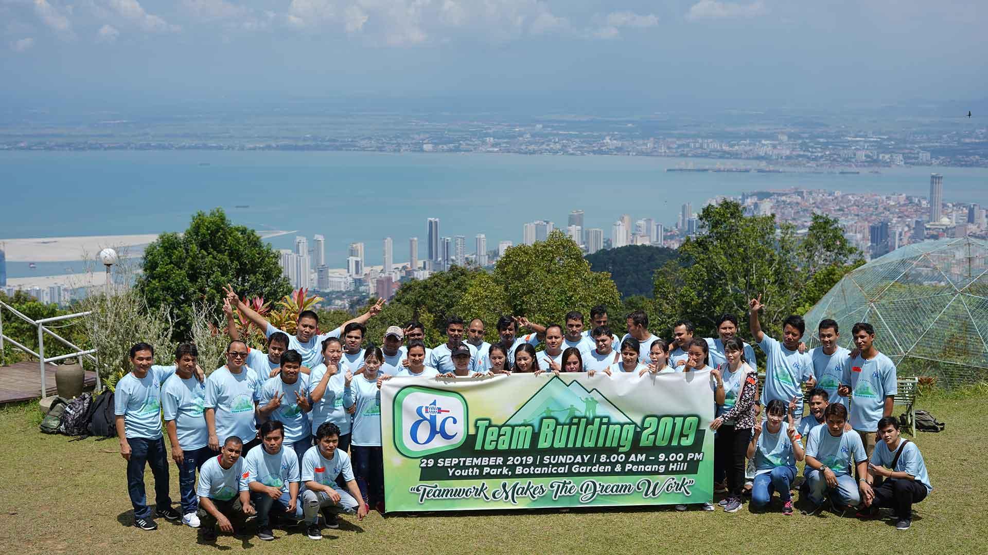 Penang Hill team building