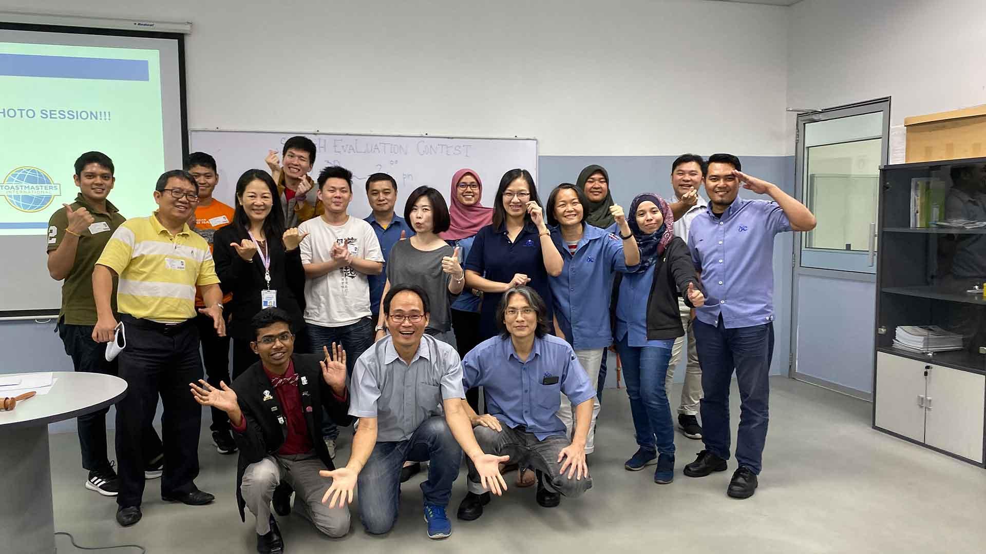 Dufu Toastmasters Club's Speech Evaluation Contest 2019