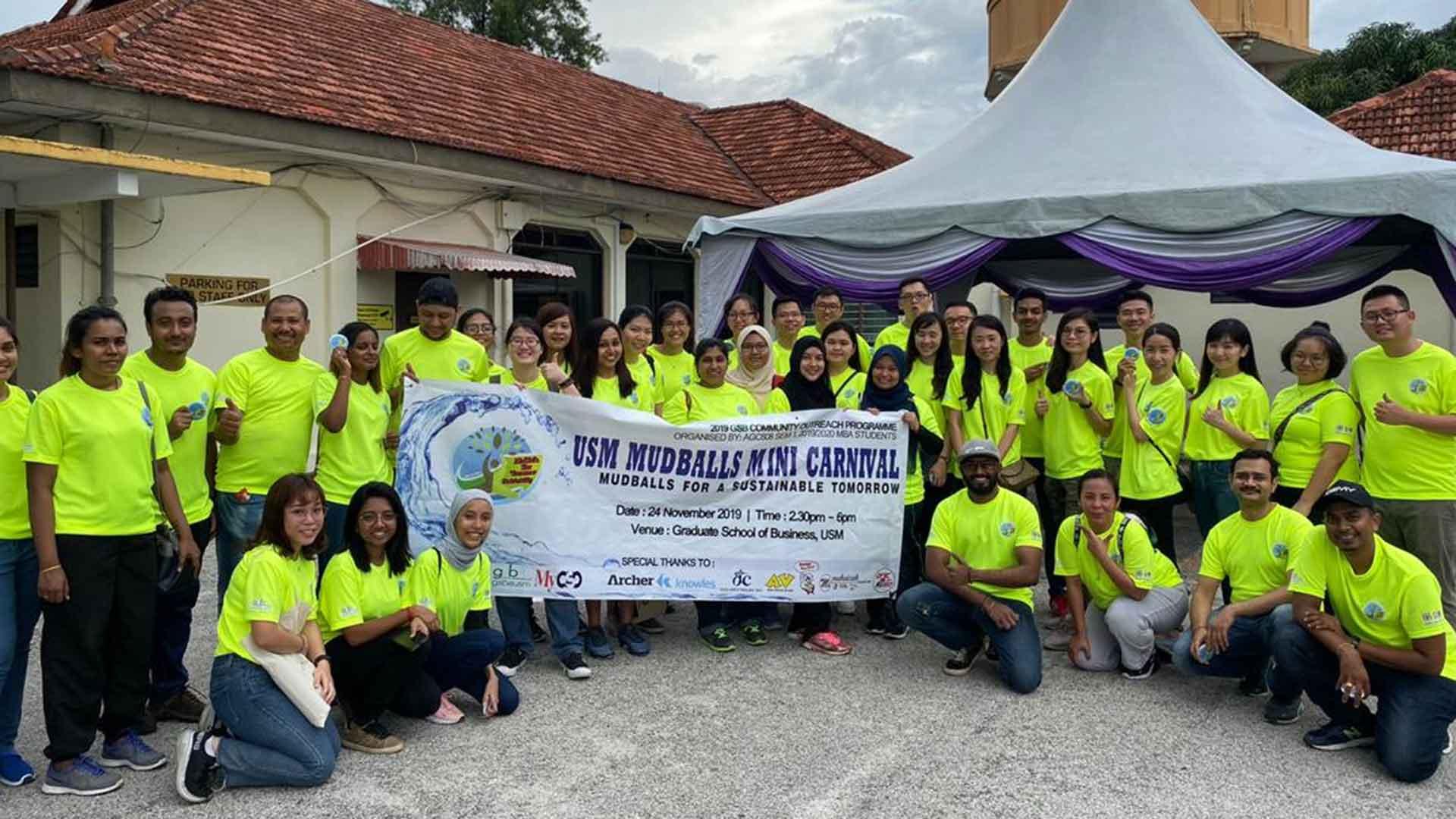 Dufu sponsors USM's Mudballs Mini Carnival
