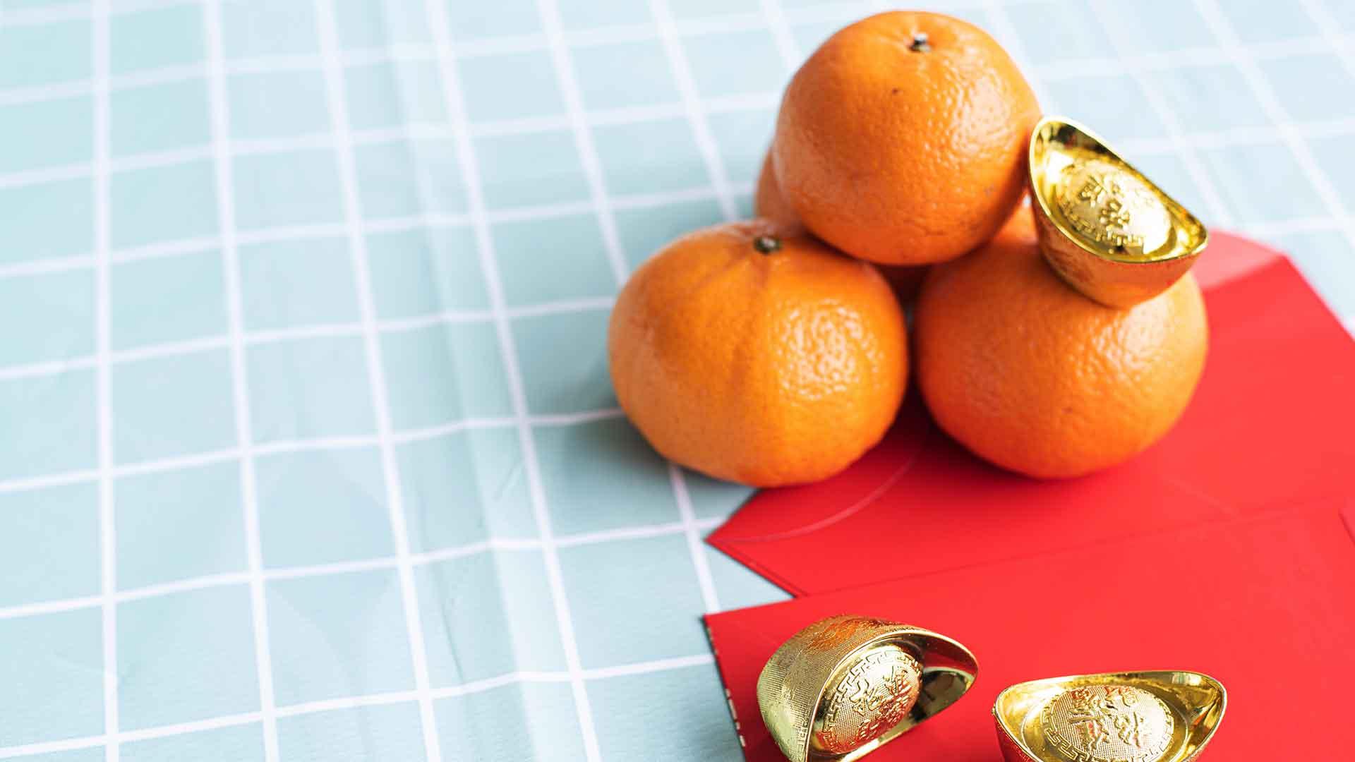 CNY 2019 mandarin oranges giveaway